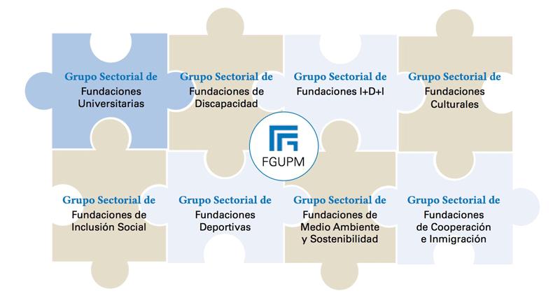 Grupos de trabajo en los que participa la FGUPM