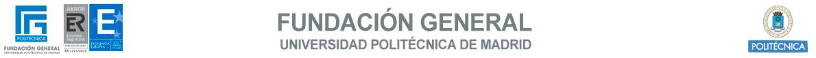 Fundación General de la UPM Logo